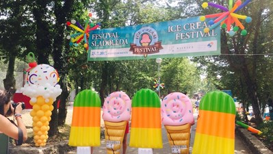 The festival of ice cream in Njivice!